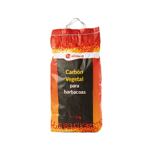 Carbó vegetal Coaliment 3 Kg.