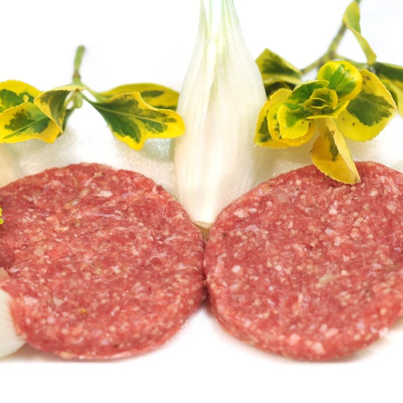 Hamburguesa de porc i ceba