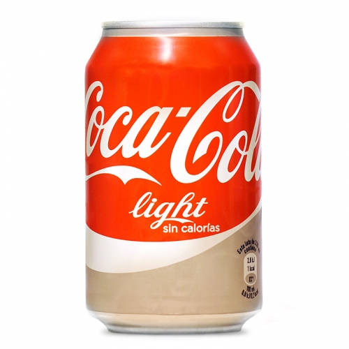 Coca-Cola light llauna