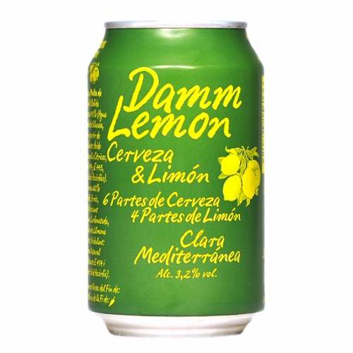Damm Lemon lata