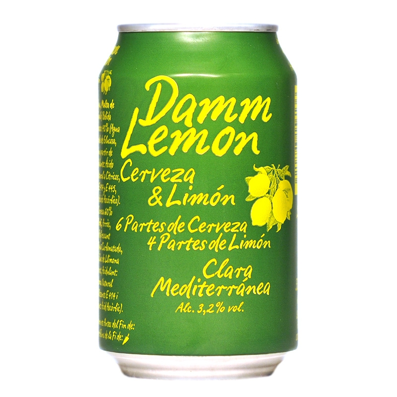 Llauna Damm Lamon