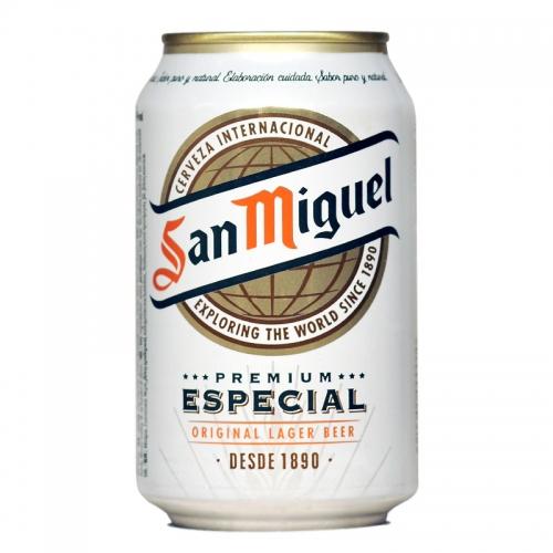 San Miguel lata