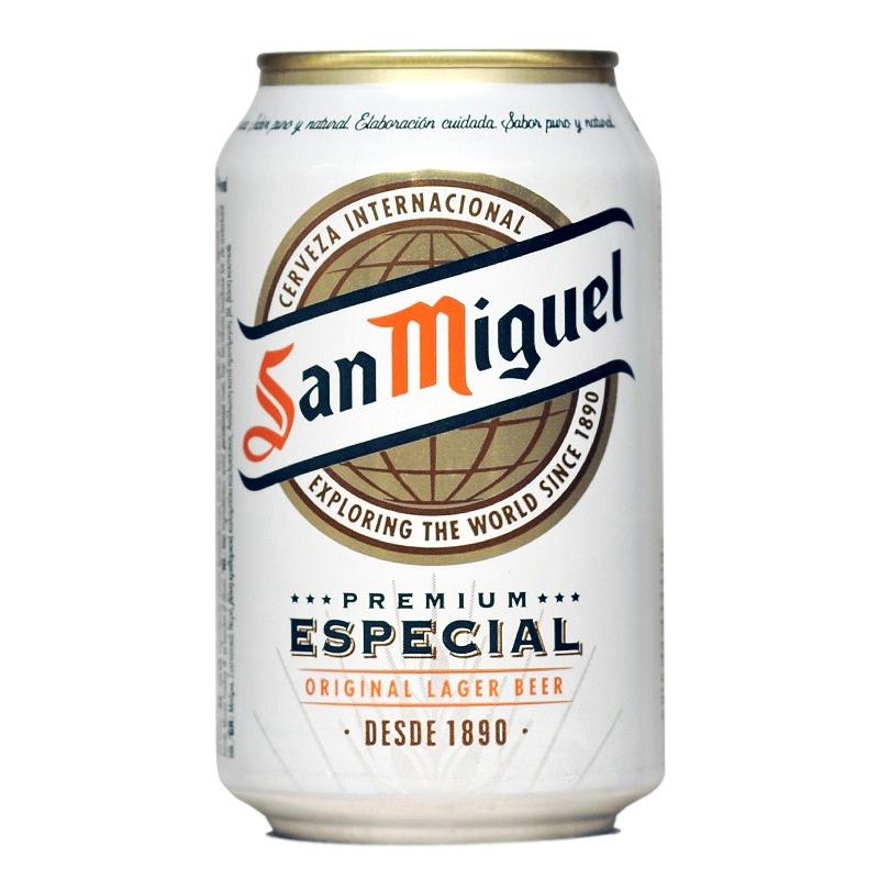 Cervesa San Miguel llauna