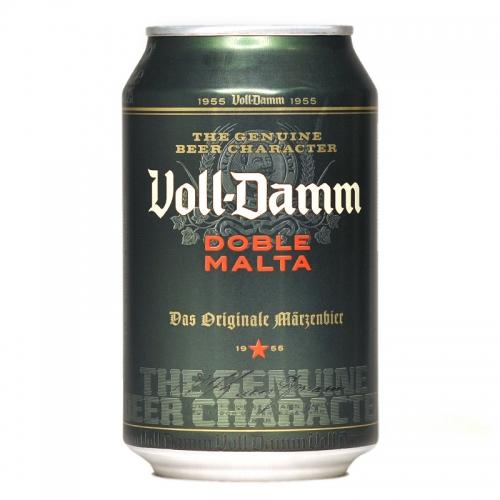 Cervesa Voll Damm en llauna