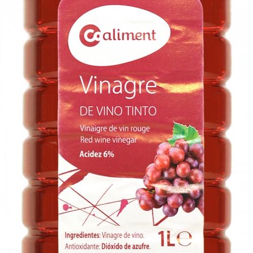 Vinagre tinto Coaliment 1 L