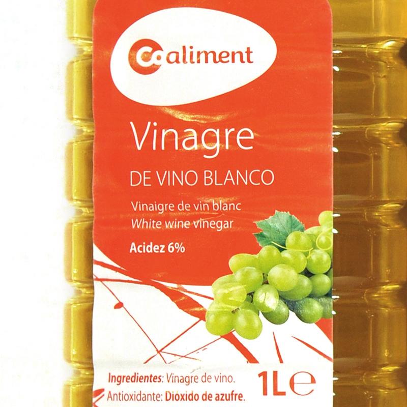 Vinagre blanc Coaliment 1L
