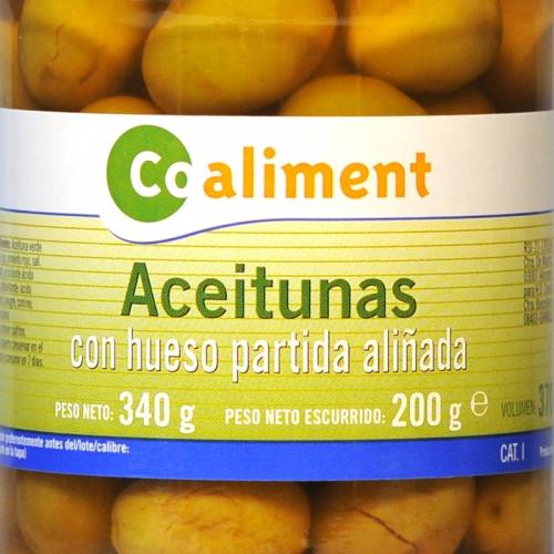 Olives amb òs amanides Coaliment