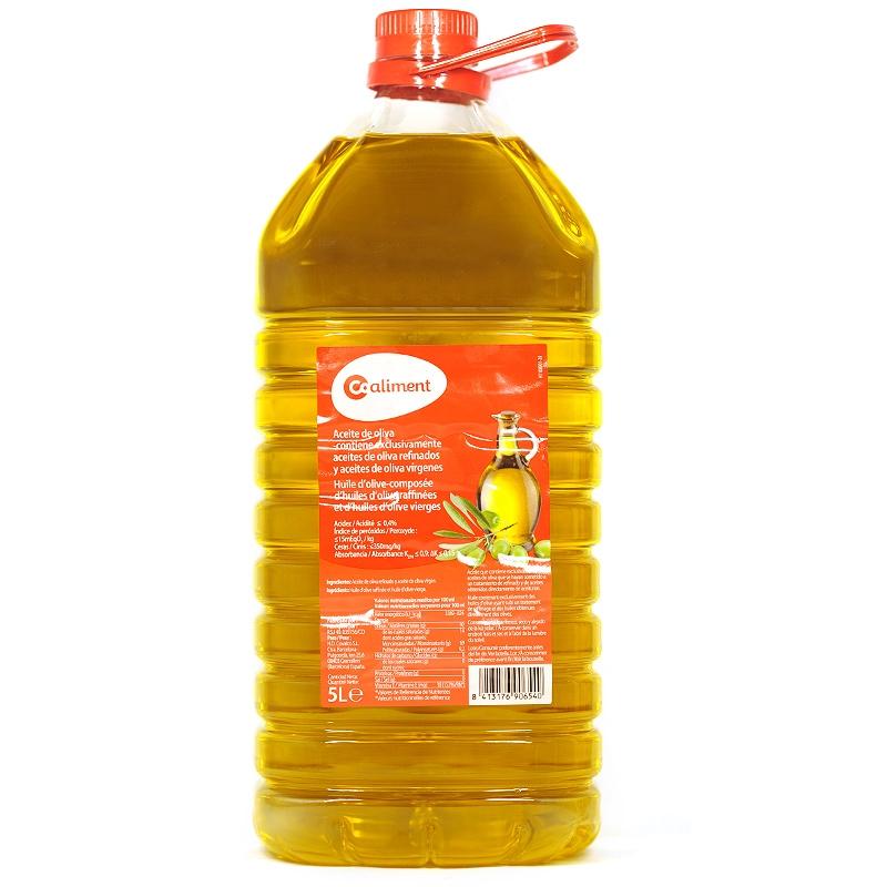 Oli d'oliva 0,4% Coaliment 5L