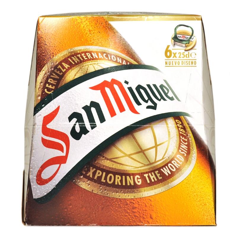 San Miguel Pack 6 25cl
