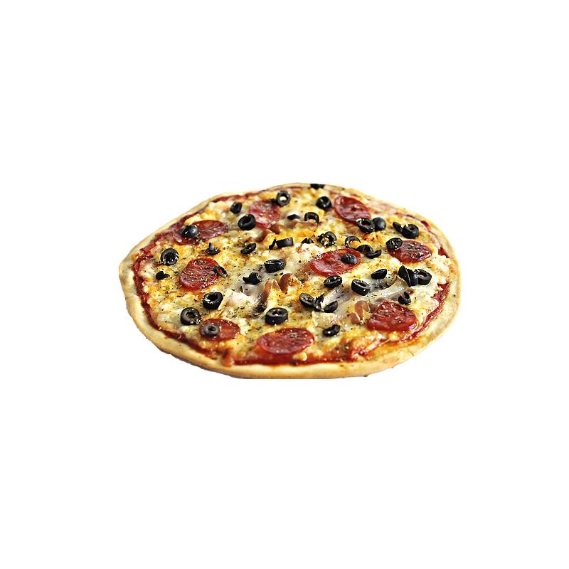 Pizza Canssalada i Xoriço