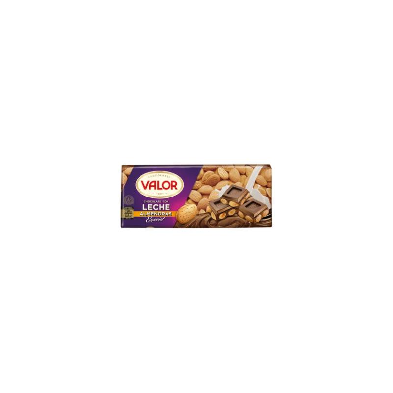 Xocolata amb llet Valor /ametlles