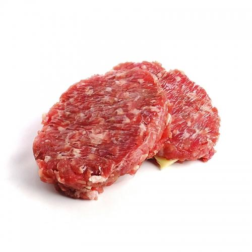 Hamburguesa de porc amb formatge
