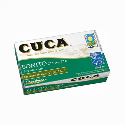 Bonítol amb oli d'oliva ecològic Cuca 112 g