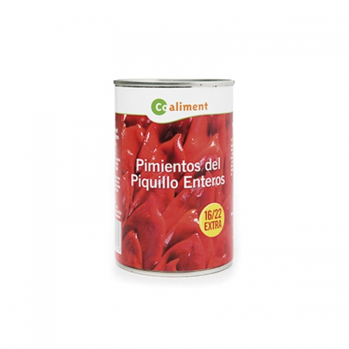Pebrots piquillo Coaliment llauna 390 g