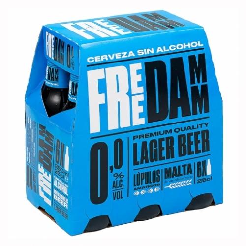 Cervesa sense alcohol free damm pack