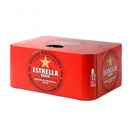 Cervesa Estrella Damm llauna pack 12x33 cl