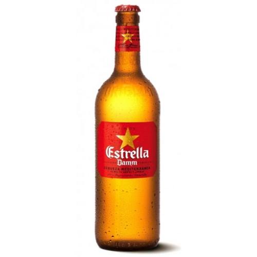 Cervesa Estrella Damm Botella 66 cl