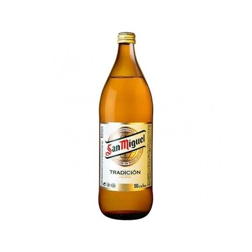 Cervesa San Miguel Botella 1L